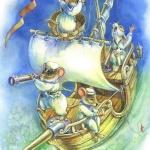 ЧаловаВиктория (Россия, г. Волгоград) «Кораблик»  Хармс»