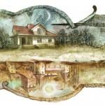 Дударенко Виталий (Белоруссия, г. Минск) «Дом возле озера»