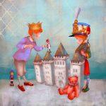 Бехор Светлана «Иллюстрация к произведению Г.Х. Андерсена «Стойкий оловянный солдатик»