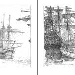 Бушуев Павел «Иллюстрация к произведению Дж. Свифта «Путешествия Гулливера»