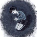 Васильева Екатерина «Иллюстрация к произведению Д. Драгунского «Он живой и светится»