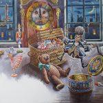 Ганзенко Игорь «Иллюстрация к произведению Г.Х. Андесена «Стойкий оловянный солдатик»