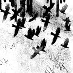 Кендель Анна и Варвара «Иллюстрация к произведению Б. Пастернака «Февраль»