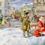 Коротаева Мария «Иллюстрация к произведению Н. Карповой «Ванильный Новый Год»