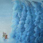 Кузина Анна «Заблудились в заснеженном лесу. Иллюстрация к неизданной новогодней сказке»