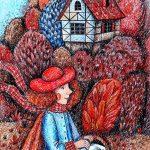 kateklim «Иллюстрация к произведению Ш. Перро «Красная шапочка»