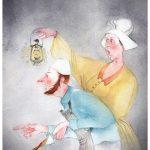 Павлова Анна «Иллюстрация к произведению Братьев Гримм «Маленькие человечки»