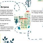 Прохоцкая Юля «Иллюстрация к произведению А. Барто «Встреча»