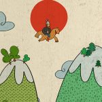 Сергейцева Мария «Святогор-богатырь. Иллюстрация к былине»
