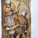 Чеботарь Вера «Иллюстрация к произведению «Сказки о Шише» в пересказе Б. Шергина»