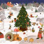 Шашкина Екатерина «Новый год в лесу. Авторский виммельбух»
