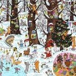 Yovin «Лес чудес. Зима. Авторский виммельбух»