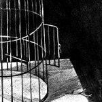 Кендель Анна и Варвара (Россия, Санкт-Петербург). «Серия иллюстраций к стихам поэтов Серебряного века. Клетка, О. Мандельштам»