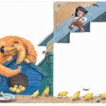 """БолюхПётр «Серия иллюстраций к произведению """"Приключения Бибигона"""" К. Чуковского»"""